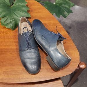 Zara Navy Dress Shoes